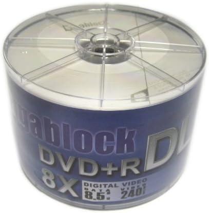 Gigablock Dvd R 8x Dl Double Layer 8 5 Gb 240 Min Für Computer Zubehör