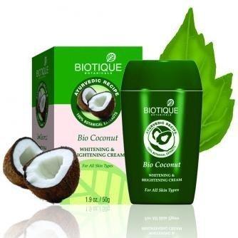 Bti Skin - Biotique Coconut Milk Cream for Skin Discoloration and Age Spots