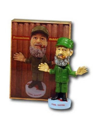 igar Military Bobblehead Doll (Fidel Castro Color)