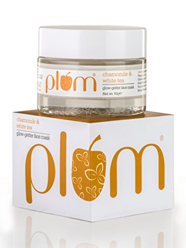 Plum Chamomile & White Tea Glow-Getter Face Mask | De-tanning Clay Mask | For Normal, Combination Skin | 100% Vegan…
