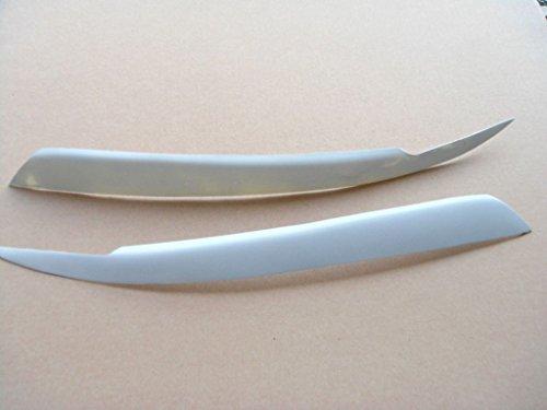 (JPCarbon Fiberglass Headlight Eyelids for Nissan R33 GT-R GTR 1995-1998)