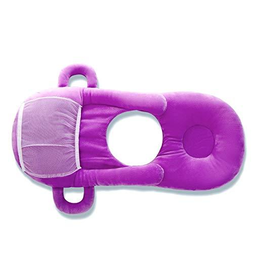 SMARTRICH Coussin d'allaitement, Nourrir bébé Taie d'oreiller réglable Baby Care Support Assis Coussin 0–12Mois Nouveau-né (45x 30cm)