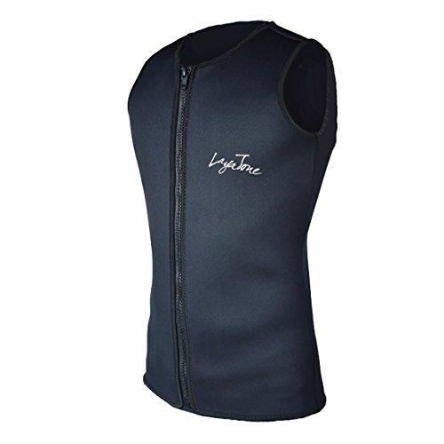 Layatone Wetsuits Men's Wetsuits 3mm Neoprene Zipper Diving Vest