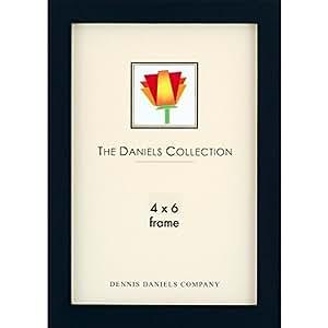 Dennis Daniels Gallery Woods Essential Frames 4 in. x 6 in. ebony