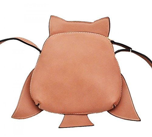 Animal Girls Cross Women's For Brown Novelty LeahWard Holiday Bear Elephant Owl Body Bags Women Owl Handbag Bag Shape SEOqxfxIw