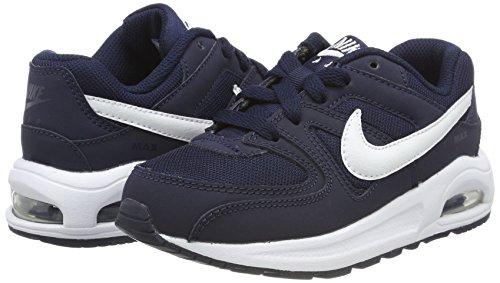 Unisex Ginnastica Nike Basse Bambini black white Blu – Da obsidian Max Air ps Scarpe Command Flex 0Bzx0q