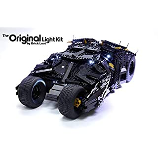 Brick Loot LED Lighting Kit for Your Lego Batman Tumbler - 76023 - Lego Set is NOT Included! (Lego Set is NOT Included)