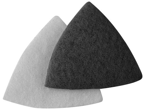 A&H Abrasives 912888, Multi Tool Sanding Shapes, Ryobi Psa, Ryobi Detail H&L Gray Pads, 10 Each