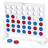 ROPODA Giant Wooden 4 in a Row Game - 3 Foot Width - with Coins, Portable Carry Case -Fun for Kids and Adults
