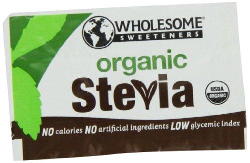 Les édulcorants sain organique Stevia paquets, 1000-Counts