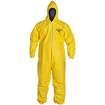 Dupont Large Yellow Tychem Qc Chemical Protection