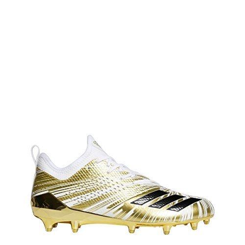 adidas 5Star 7.0 Metallic Cleat Men's Football 10 Gold Metallic-Core (Football Metallic Heels)