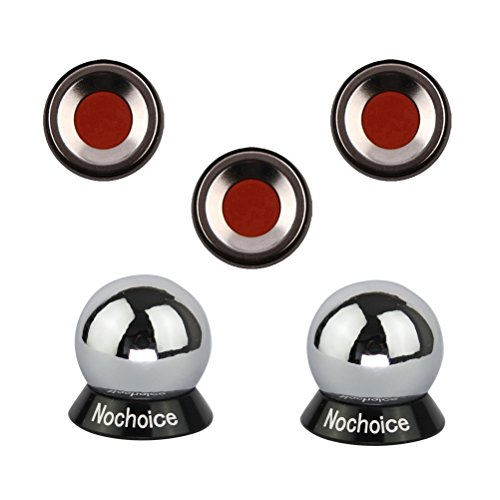 Nochoice Magnetic Car Mount Cell for Phones Big Angle Black (3 Magnets + 2 Balls) - Free Arkon Vent Mount