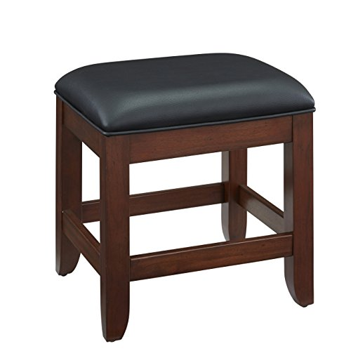 Cherry Vanity Bench - Chesapeake Classic Cherry Vanity Bench by Home Styles