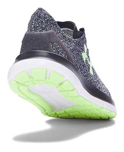 Under Armour Mujeres Speedform Slingride Tri Black / Glacier Grey / Lime Fizz
