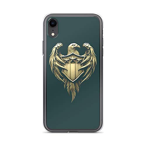 iPhone XR Pure Clear Case Cases Cover American Eagle Bald