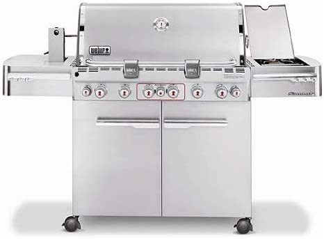 Weber Summit S-670 LP Gas Grill review