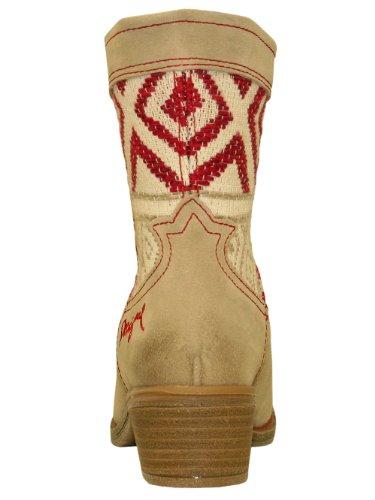 DESIGUAL Femme Designer Boots Boot Chaussures - CAMPERAS 3 -
