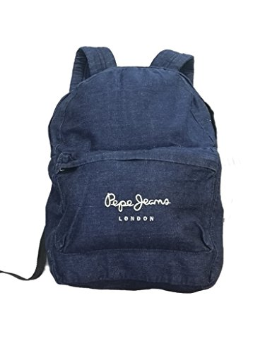 Pepe Jeans Mochila Denim Backpack, unisex, Color Indigo, Talla única