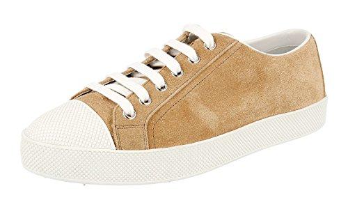 Prada Trainers Sneaker Women's 054 F0050 3E6202 Leather SXx4ZrwSq