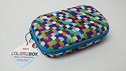 Zipit Colorz Pencil Storage Box Bubbles