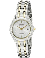 Citizen Eco-Drive Womens GA1064-56A Diamond Watch