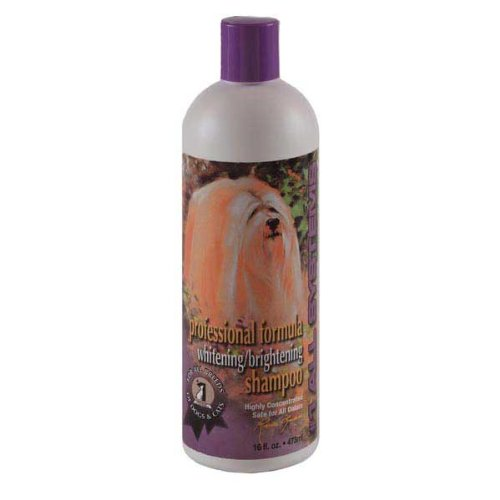 #1 All Systems Professional Formula Whitening Pet Shampoo, 16-Ounce, My Pet Supplies