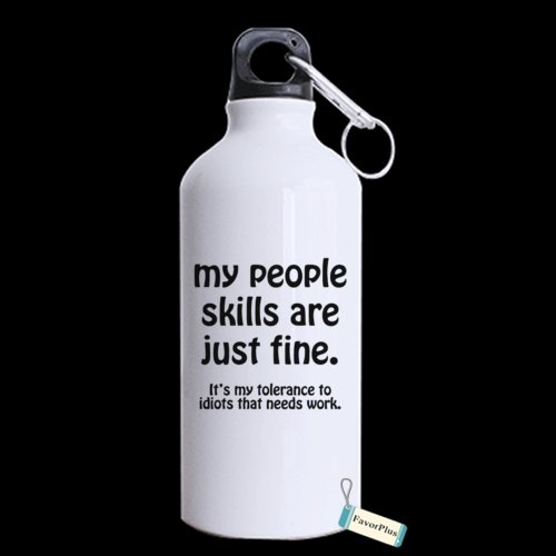 (My People Stills Are Just Fine Custom Sport Bottle Motivational Inspired Quotes Funny Saying Personalized Aluminum Sport Mug 13.5 OZ Coffee/Tea Cup)