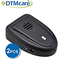 (2 Pack) Rechargeable Portable Anion Air Purifier (Made in Taiwan) (2, black)
