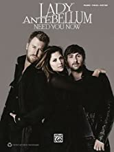 Lady Antebellum Need You Now Piano/Vocal/Guitar