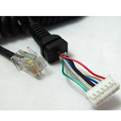bigstone replacement mic cable cord wire for yaesu mh ... ft 8900 mic wiring
