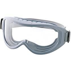 Sellstrom S80231 Odyssey II Gamma Ray and Autoclave Clean Room Goggle, Top Vented, Clear Polycarbonate Lens, Adjustable Neoprene Strap (Fits Over Most Prescription Eyewear)