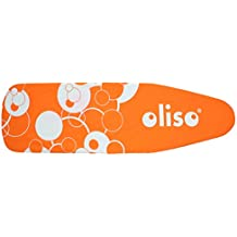 Oliso 30000003 Standard Size Ironing Board Cover, 100% Cotton, 54 Inch by 15 Inch, Orange