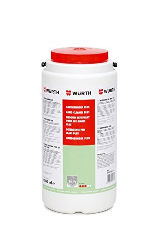 Wü rth Hand Cleaner 4000ml For Use with Hand Cleaner Dispenser 0891901 Würth