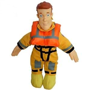 Sam el bombero - Fireman Sam - Sam Beanie Doll contramaestre 18cm