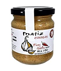 Matiz Fiery All I Oli Garlic Spread, 6.5...