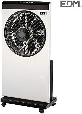 Ventilador nebulizador con programador 80W EDM: Amazon.es: Grandes electrodomésticos