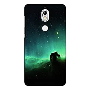 Cover It Up - Green Space Cloud Nokia 7 Hard Case