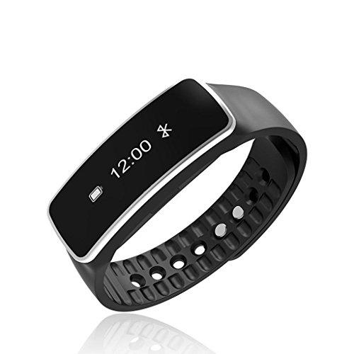 QINSmart Bracelet Bluetooth Gift Sleep Monitor Sport Bague de marche imperméable à l'eau