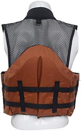XSHD ストラップは女性男性マルチポケット大容量フライバス釣りアウトドアアクティビティのための調節可能なベスト釣り (Color : 1)