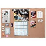 Wall Mounted Bulletin Board Size: 4' H x 5' L
