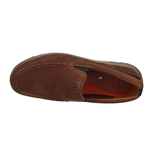 Clarks Hombres Unmaslow Zapatos Bajos Nubuck Fáciles En Marrón Venta asequible mTtkH