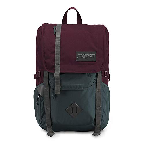 JanSport Hatchet Travel Backpack - Laptop Bag Designed For Urban Exploration | Fig/Grey Horizon (Jansport Side Backpack)