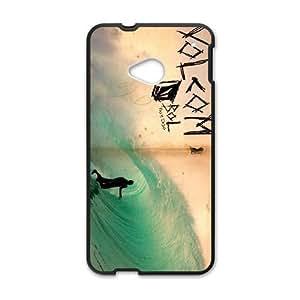 HTC One M7 Phone Case Black Volcom PLU6213577