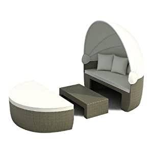 Jet-Line 2149 - Funda sofás doble de exterior, color gris