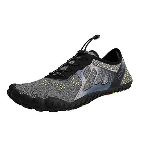 (HAPPIShare Womens Water Shoes Barefoot Beach Pool Shoes Quick-Dry Aqua Yoga Socks for Surf Swim Water Sport )