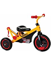 Dynacraft Tonka Tricycle, Yellow/Red/Black, 10-Inch