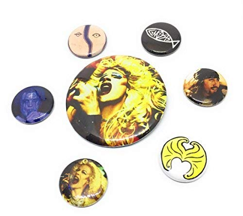 Hedwig and the Angry Inch inspired Button Set, Hedwig Pin, Angry Inch - Button Inspired