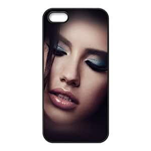 iPhone 4 4s Cell Phone Case Black he71 glamour face victoria secret girl sexy SLI_575946