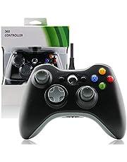 Controle Usb Com Fio Para Xbox 360 Computador Notebook Preto